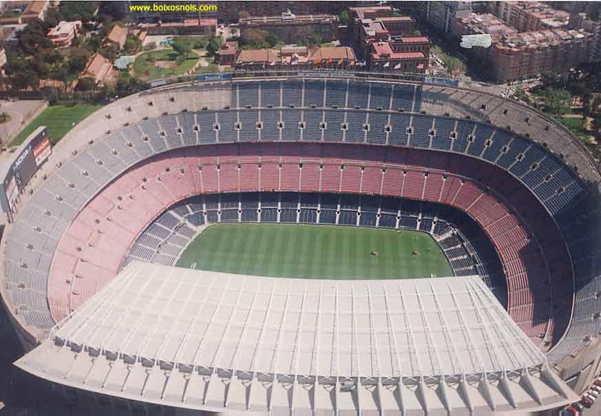 Сайт ФК Барселона - Стадион